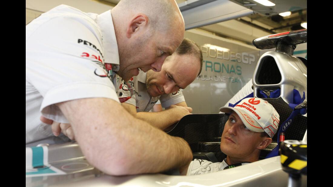 Zielankünfte, Schumacher