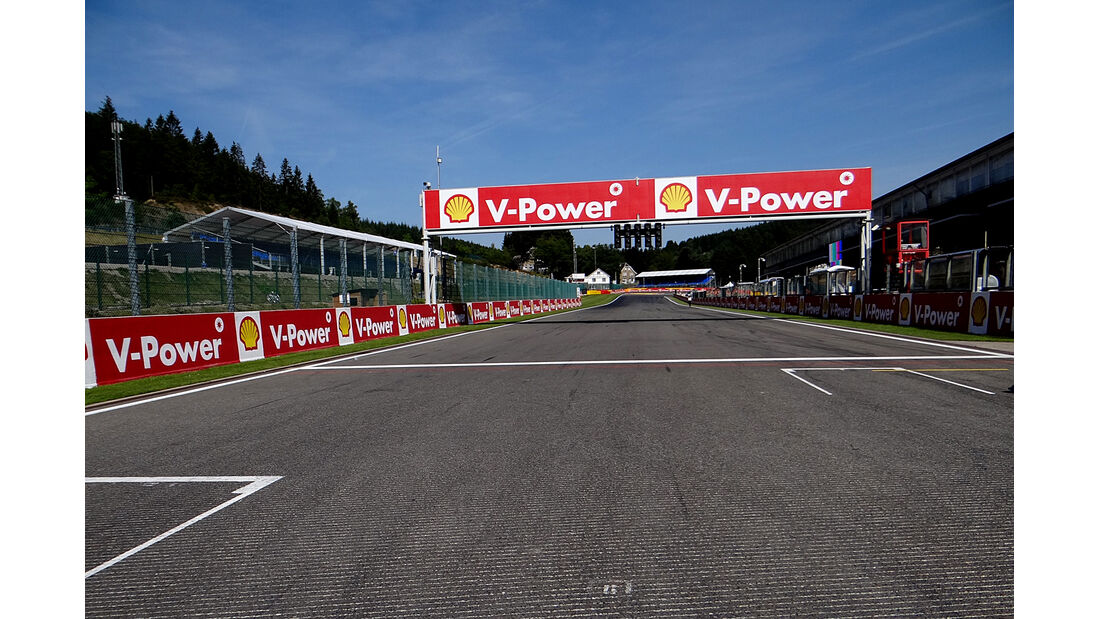 Zielgerade - Formel 1 - GP Belgien - Spa-Francorchamps - 22. August 2013