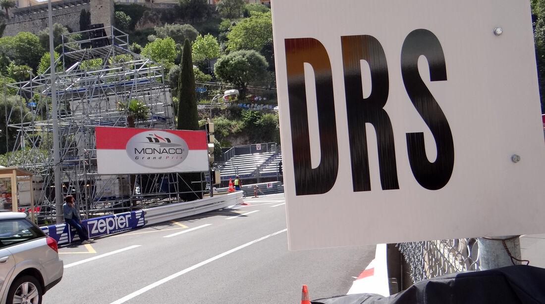 Zielgerade - GP Monaco - 23. Mai 2012