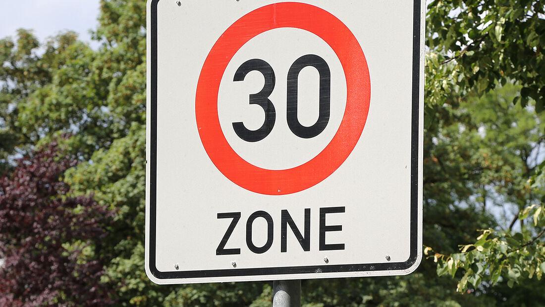 Zone 30 Tempo 30 Tempolimit
