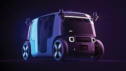 Zoox autonomes Shuttle