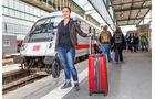 Zug, Bahnsteig