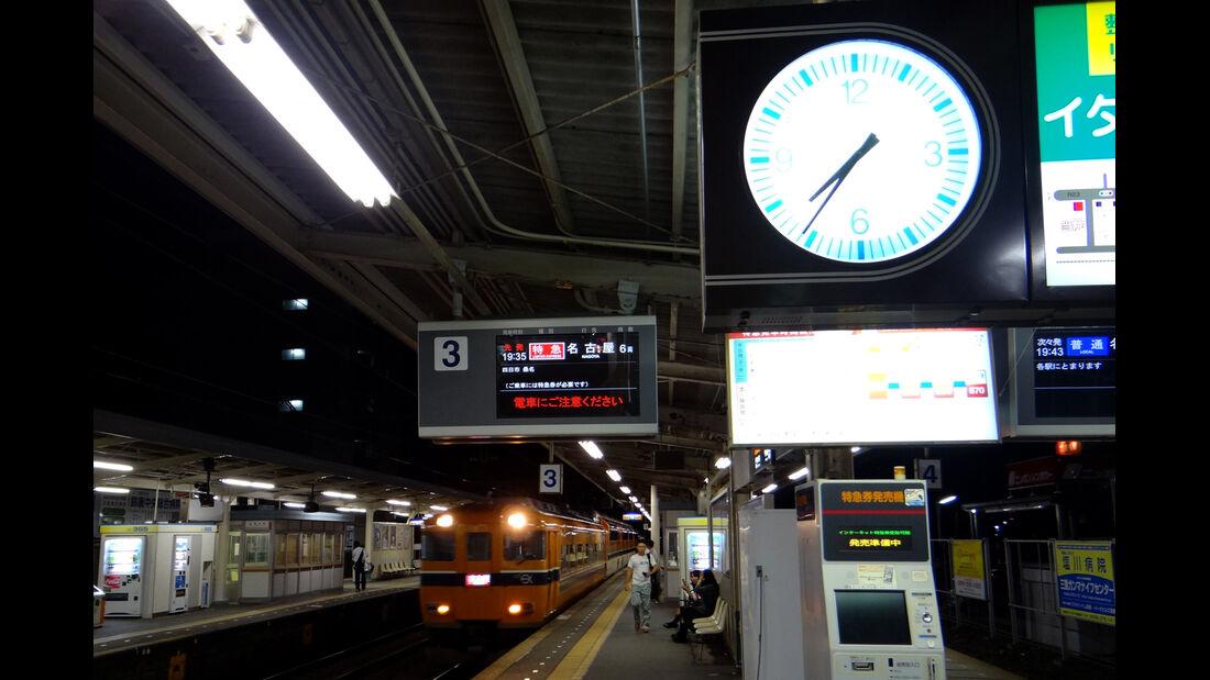 Zug Verspätung GP Japan 2012
