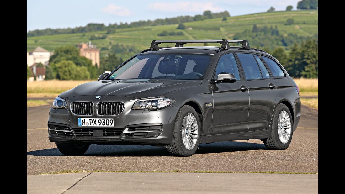 Zuladung, Fahrsicherheit, BMW 525d Touring