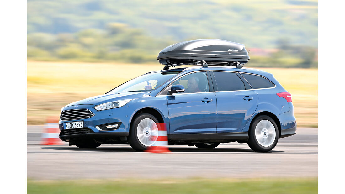 Zuladung, Fahrsicherheit, Ford Focus Turnier 1.5 Ecoboost