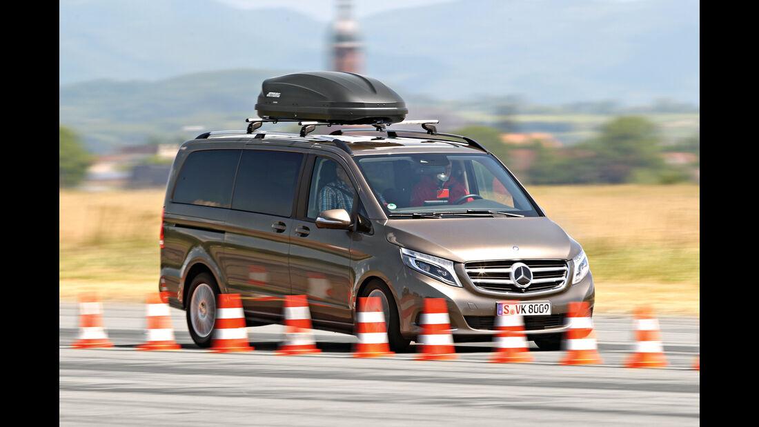 Zuladung, Fahrsicherheit, Mercedes V 220 D