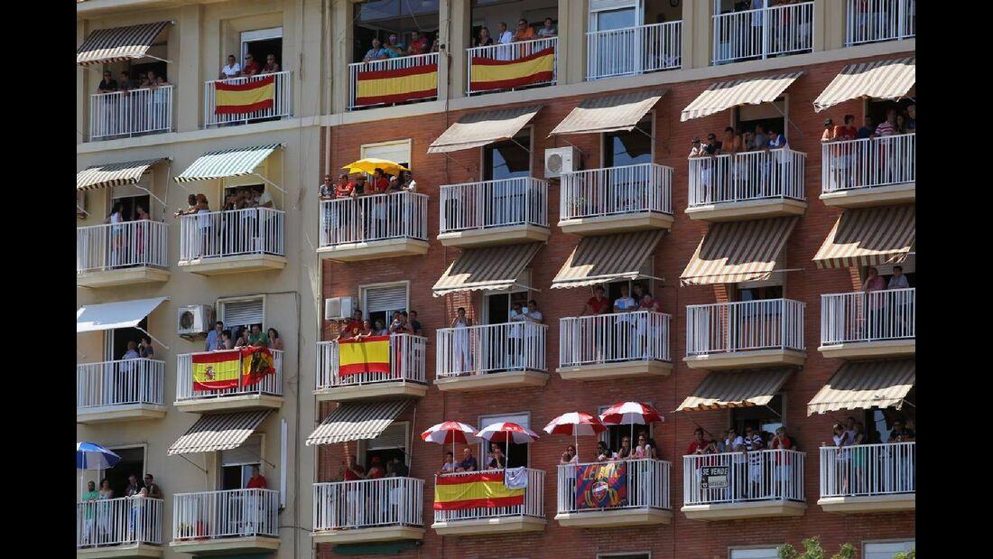 Zuschauer  - Formel 1 - GP Europa - 24. Juni 2012