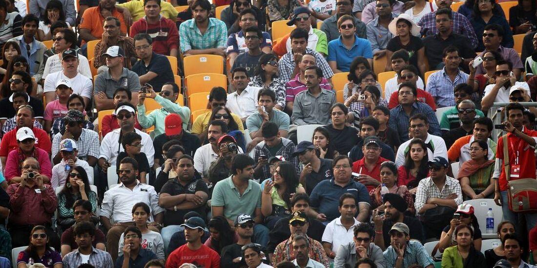 Zuschauer  - Formel 1 - GP Indien - 28. Oktober 2012