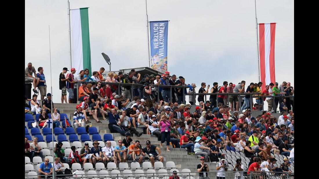 Zuschauer - Formel 1 - GP Österreich - 1. Juli 2016