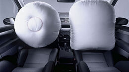 Zwei adaptive Front-Airbags