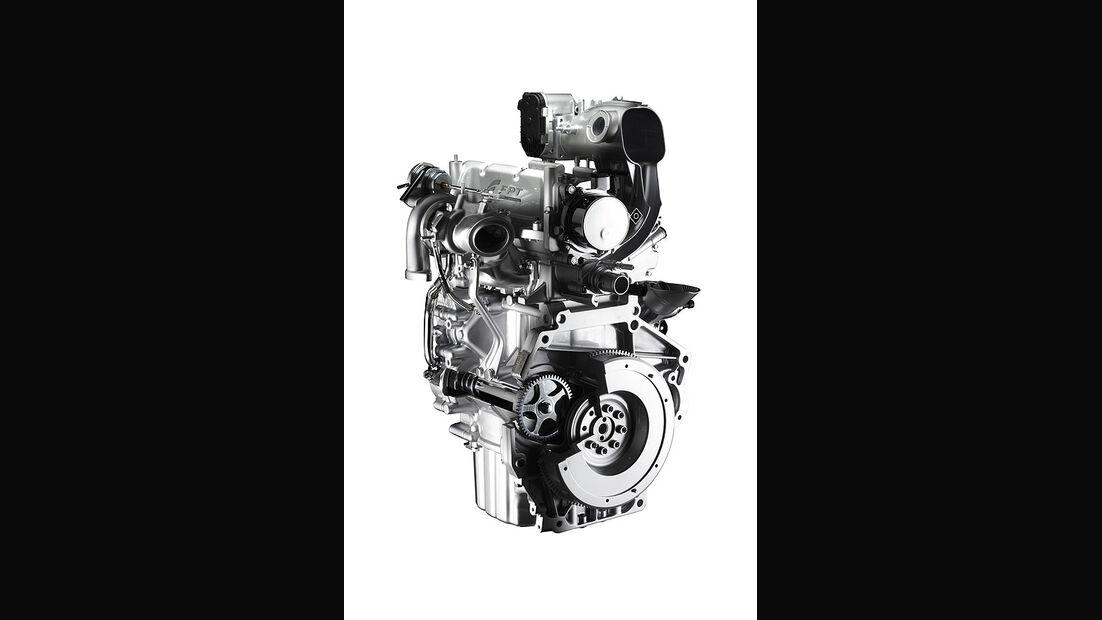 Zweizylinder-Benzinmotor