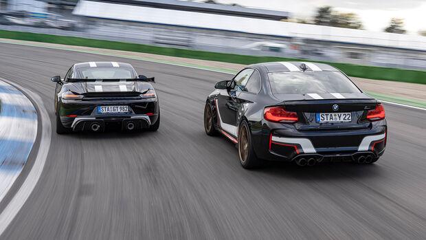 a-workx-BMW M2 Competition, a-workx-Porsche 718 Cayman GT4, Exterieur