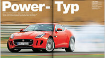 ams 07/2014 FB Jaguar F-Type