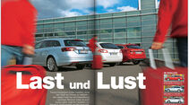 ams 08/2014, Test Mazda 6 Kombi, Opel Insignia Sports Tourer, Peugeot 508 SW