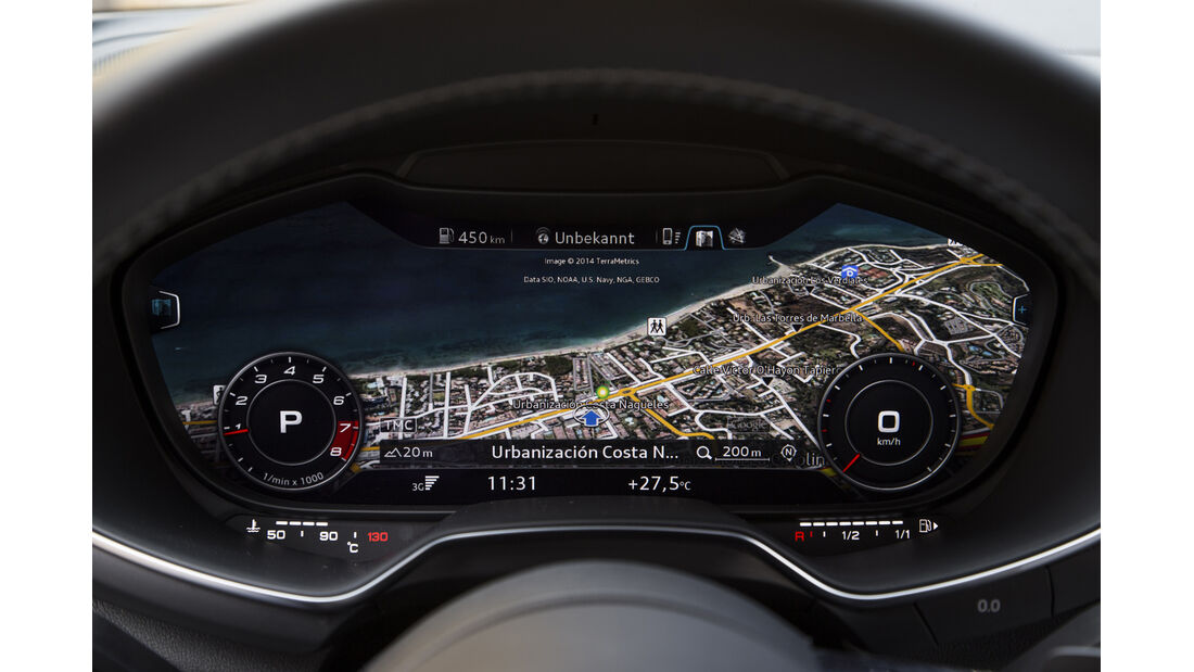 ams 19/14, Audi TTS Display