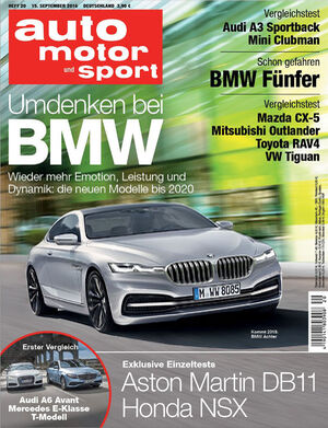 ams 20 Titel auto motor und sport