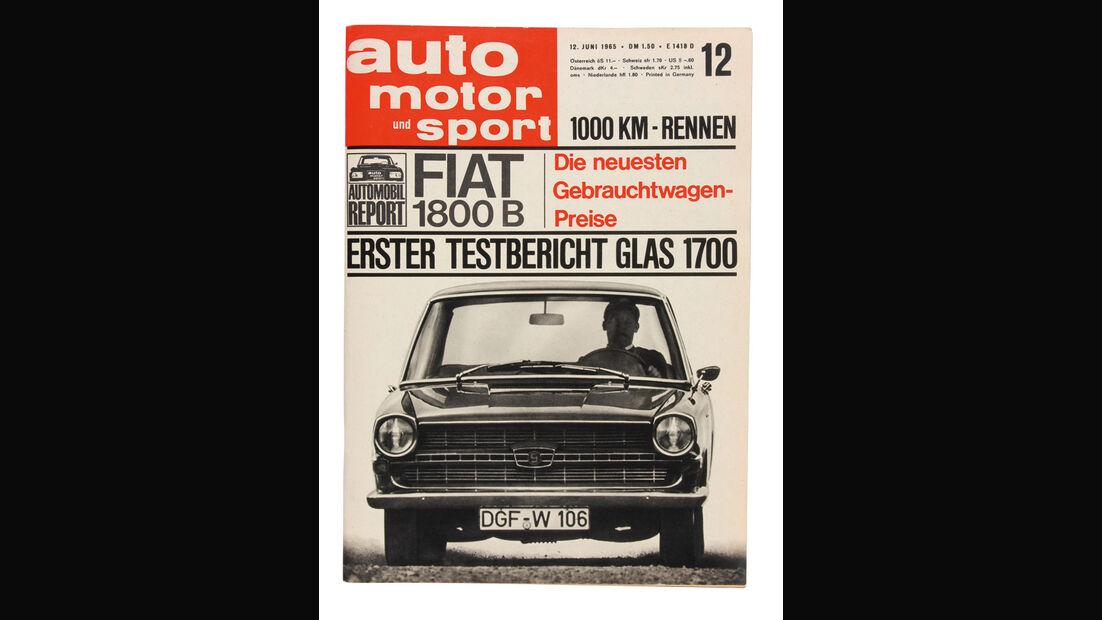ams-Cover, 1965, Glas 1700