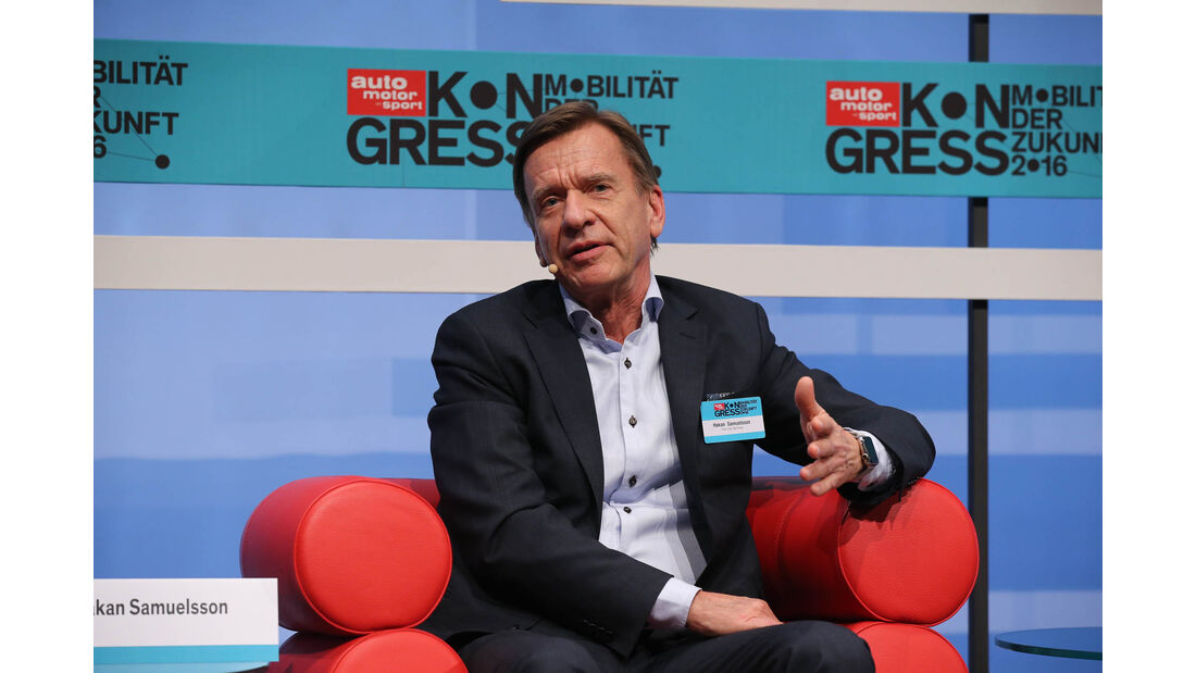 ams-Kongress 2016, Hakan Samuelsson, CEO Volvo Group