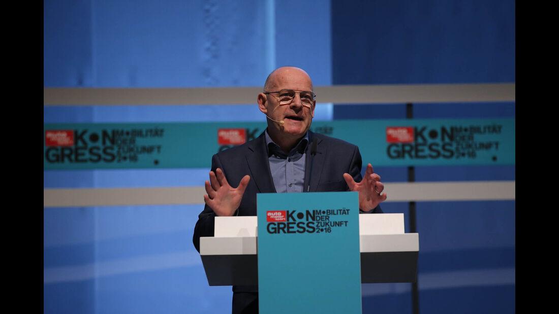 ams-Kongress 2016, Winfried Hermann, Verkehrsminister Baden-Württemberg