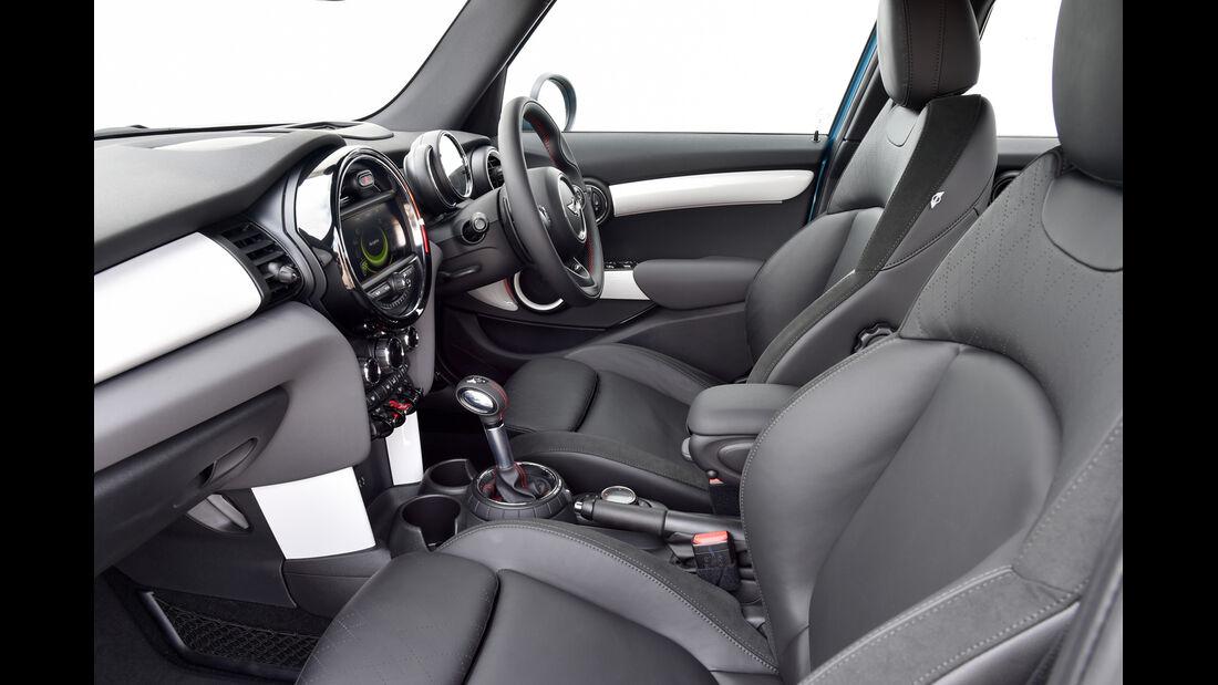 ams, Mini Viertürer, Cooper SD Innenraum