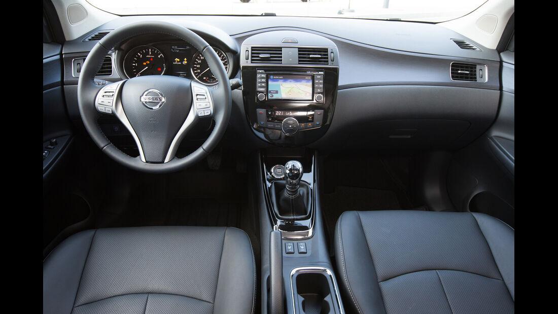 ams, Nissan Pulsar, Cockpit