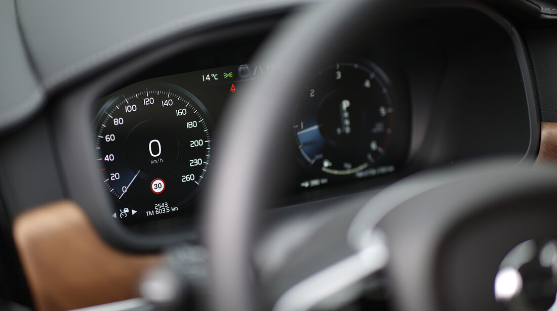 ams0219, Vergleichstest, Volvo S90 D5 AWD, Interieur