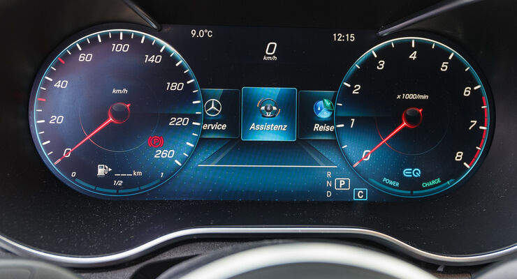 ams0319, Einzeltest, Mercedes C200 Avantgarde, Interieur