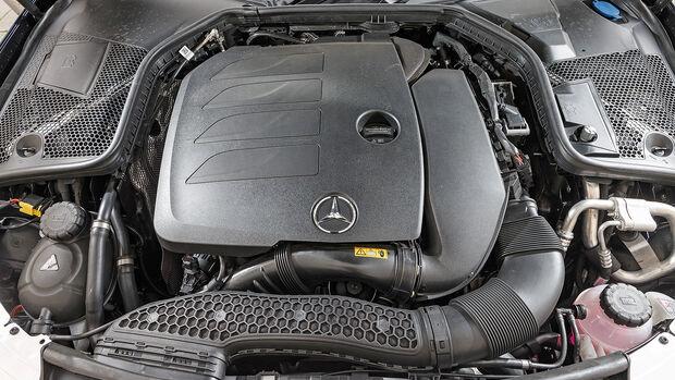 ams0319, Einzeltest, Mercedes C200 Avantgarde, Motorraum