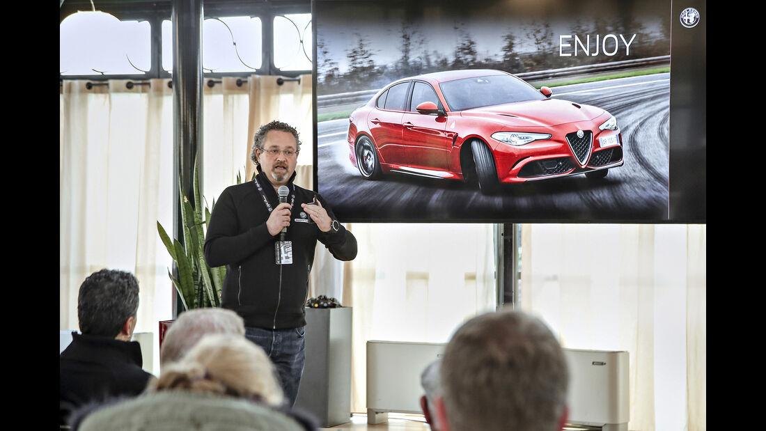 ams0319, Reportage, Alfa Romeo Sportfahrschule
