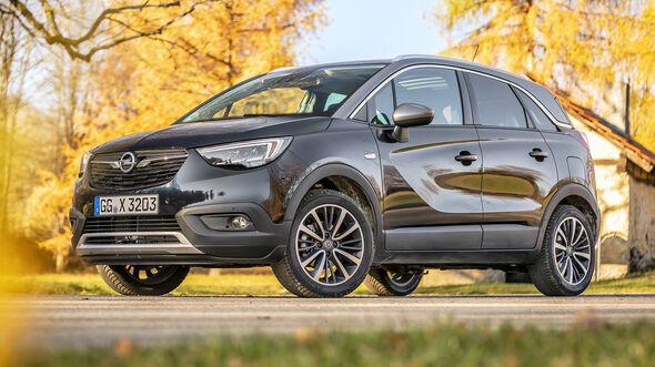 ams0319, Vergleichstest, Opel Crossland X 1.2 DI Turbo, Exterieur