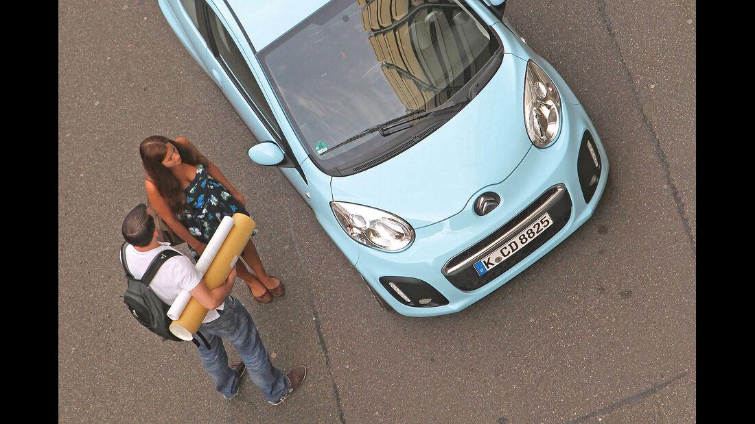 ams15/2012, Kleinwagen, 100 g/km CO2, Citroen C1,