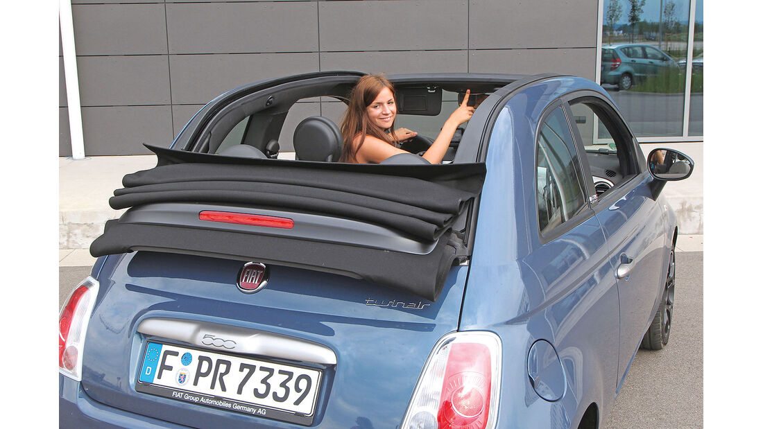 ams15/2012, Kleinwagen, 100 g/km CO2, Fiat 500C,