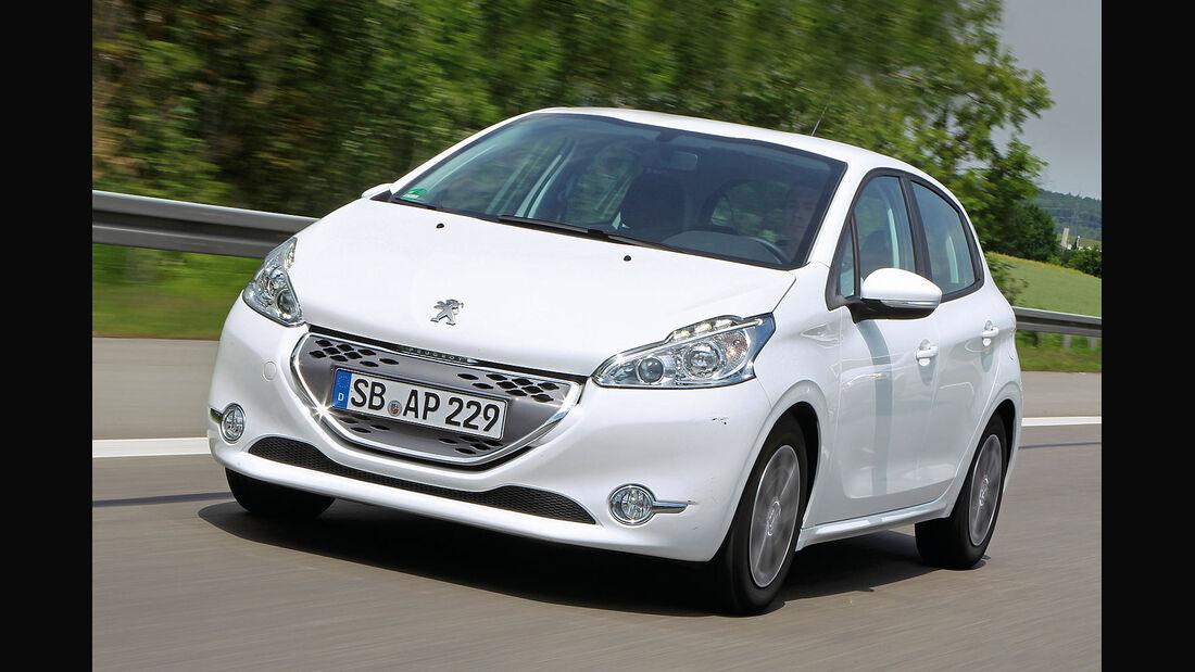 ams15/2012, Kleinwagen, 100 g/km CO2, Peugeot 208,