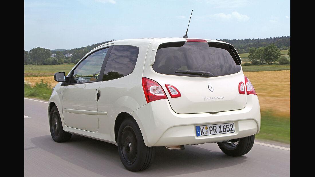 ams15/2012, Kleinwagen, 100 g/km CO2, Renault Twingo,