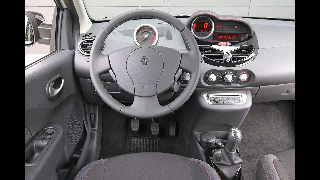 ams15/2012, Kleinwagen, 100 g/km CO2, Renault Twingo, Cockpit