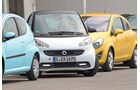 ams15/2012, Kleinwagen, 100 g/km CO2, Smart Fortwo