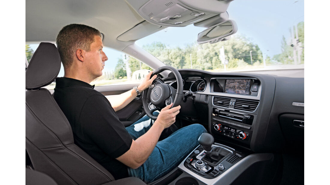 ams2011, Audi A5, Dralle, Innenraum