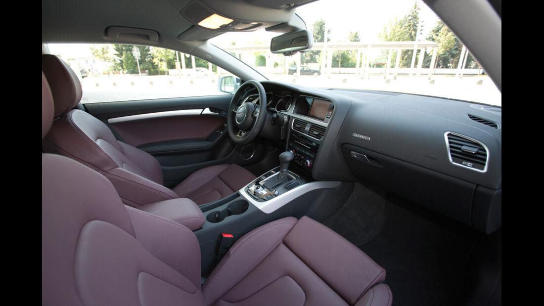 ams2011, Audi A5, Innenraum