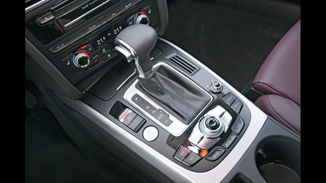 ams2011, Audi A5, Schaltung