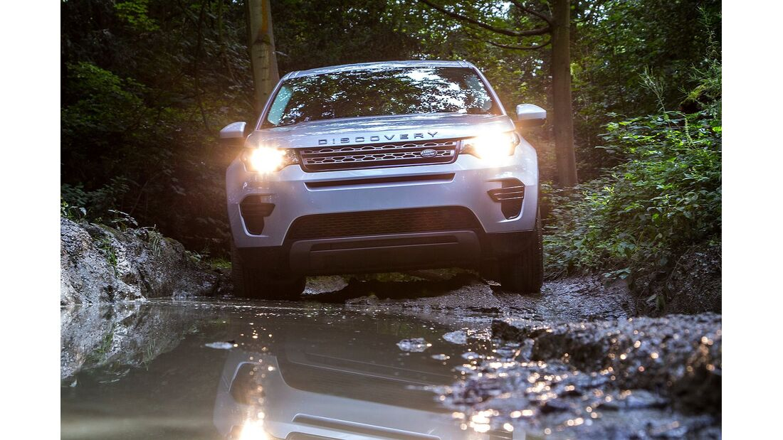 and Rover Discovery Sport