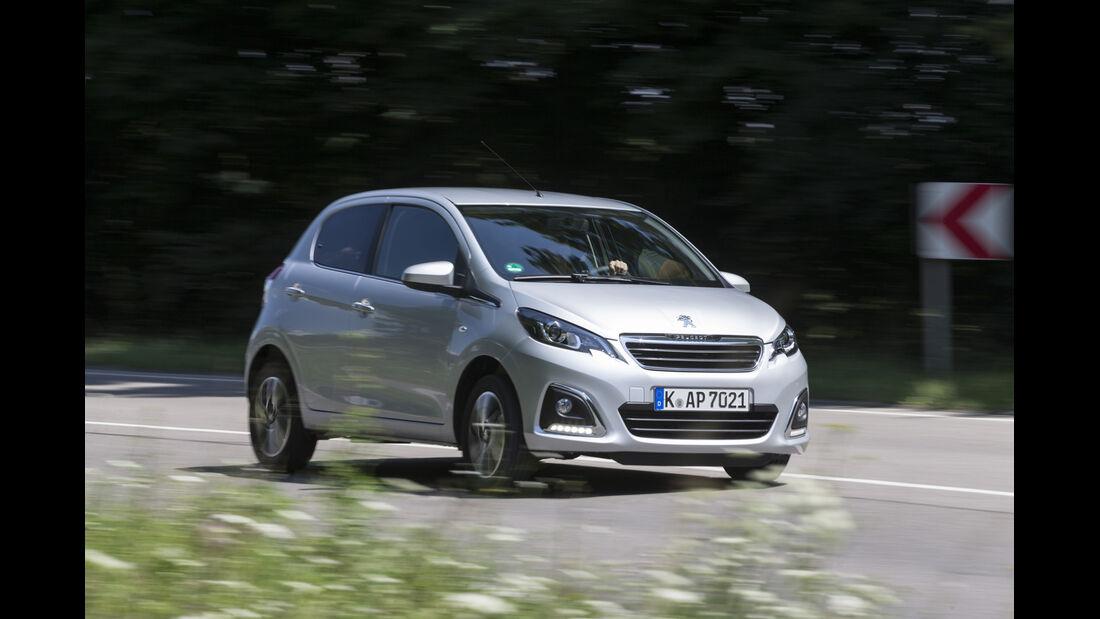 asv 1814, Peugeot 108 Puretech 82