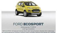asv 1814, Rabatte der Hersteller, Ford Ecosport Aktion