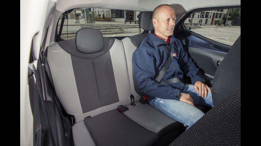 asv 2014, Toyota Aygo, Fahrbericht, Fond