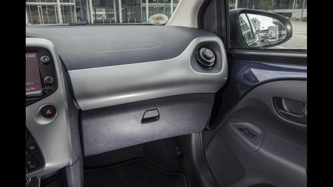 asv 2014, Toyota Aygo, Fahrbericht, Innenraum