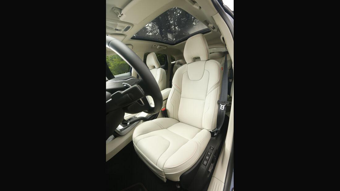 asv 2014, Volvo V40, Innenraum