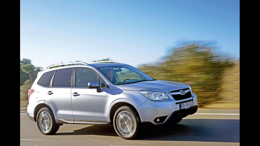 asv1314, Subaru Forester, die besten Familienautos