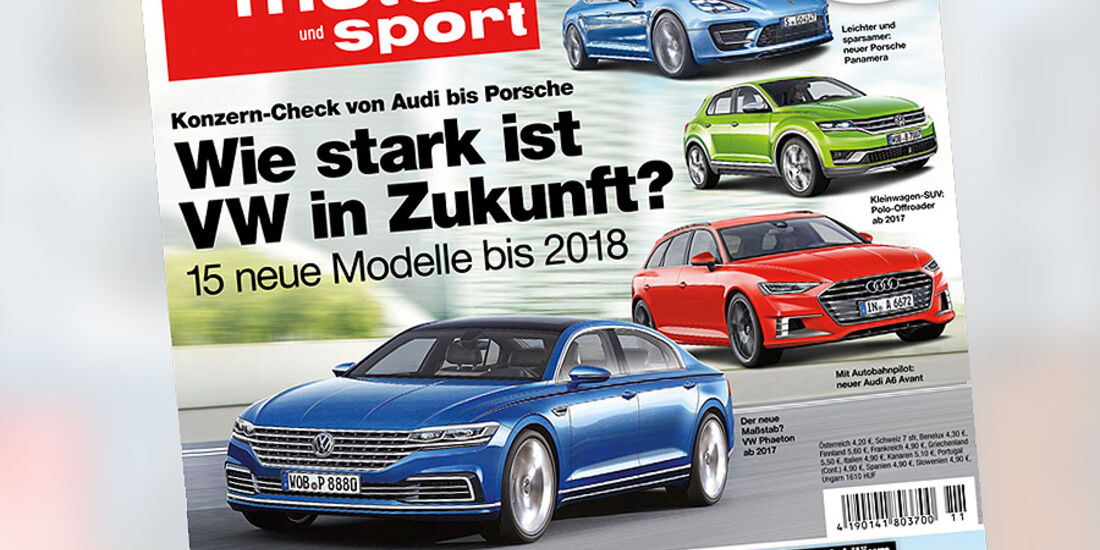 auto motor und sport 11 / 2015 Titel