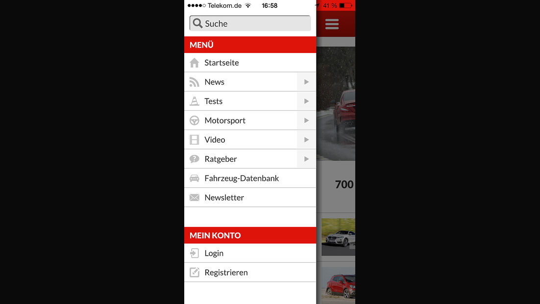 auto motor und sport App iOS 04/2015