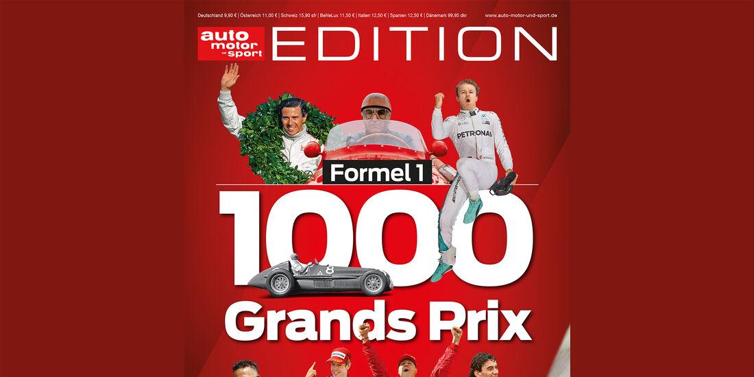 auto motor und sport Edition - 1.000 Grands Prix - Titel