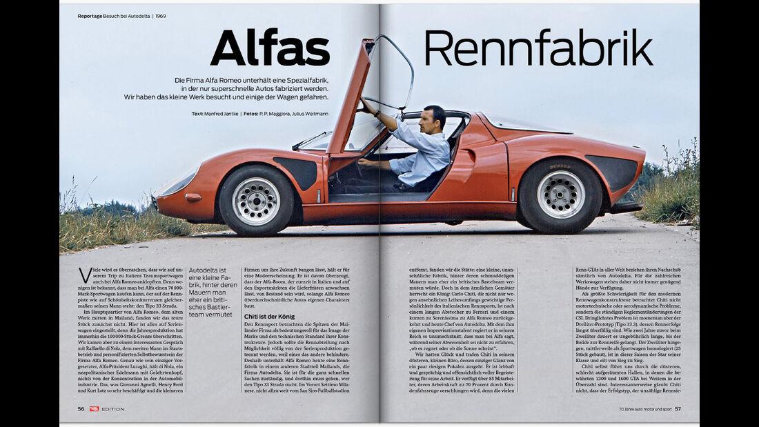 auto motor und sport-Edition, 70 Jahre, Jubiläumsausgabe, Sonderheft, Edition